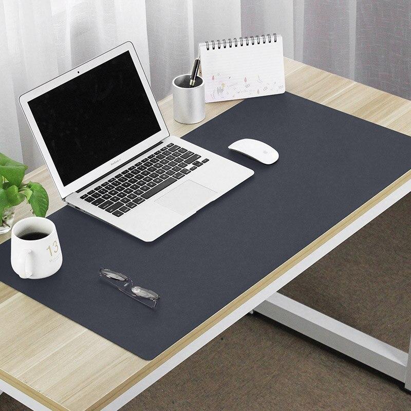 120*60 cm grande taille PU imperméable à l'eau 2mm épaisseur tapis de souris tapis ordinateur jeu de jeu travail entreprise tablette tapis de souris - 3
