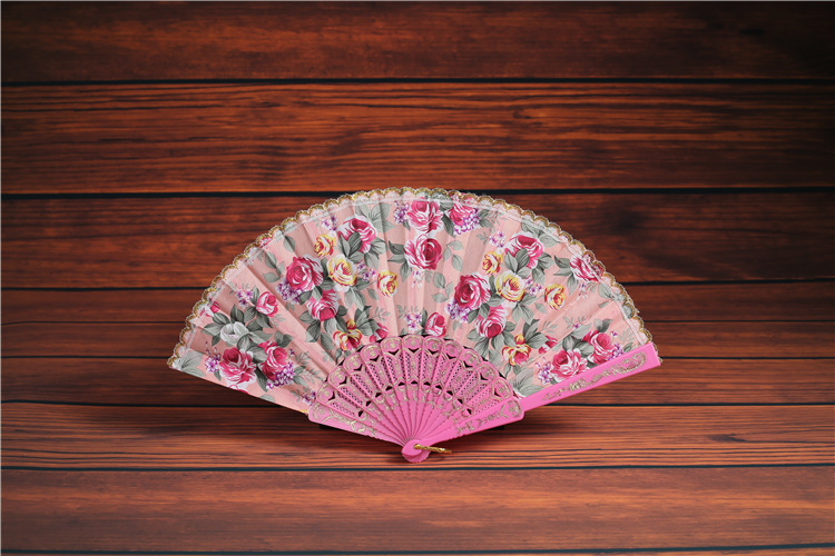 Summer Small Lace Cotton Dance Fan Designed For Ms. Taobao Dance Fan ...