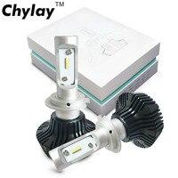 One Pair Car Headlight H4 Led H7 H11 H3 H1 9005 9006 ZES Chips 50W 8000LM