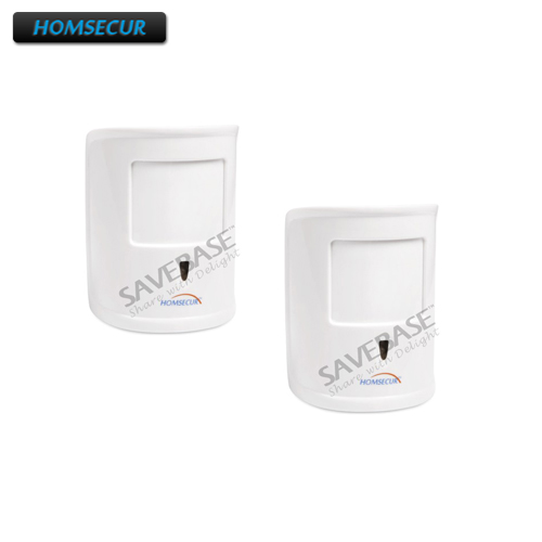 HOMSECUR 2Pcs 433MHz Wireless Pet Immune PIR A12 IR Motion Sensor under 10kg For Our font