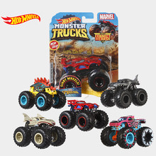 Hot Wheels Auto Monster Trucks Grote Voet Sluit En Crash Auto Collector Edition Metal Diecast Model Auto Kinderen Speelgoed Gift(China)