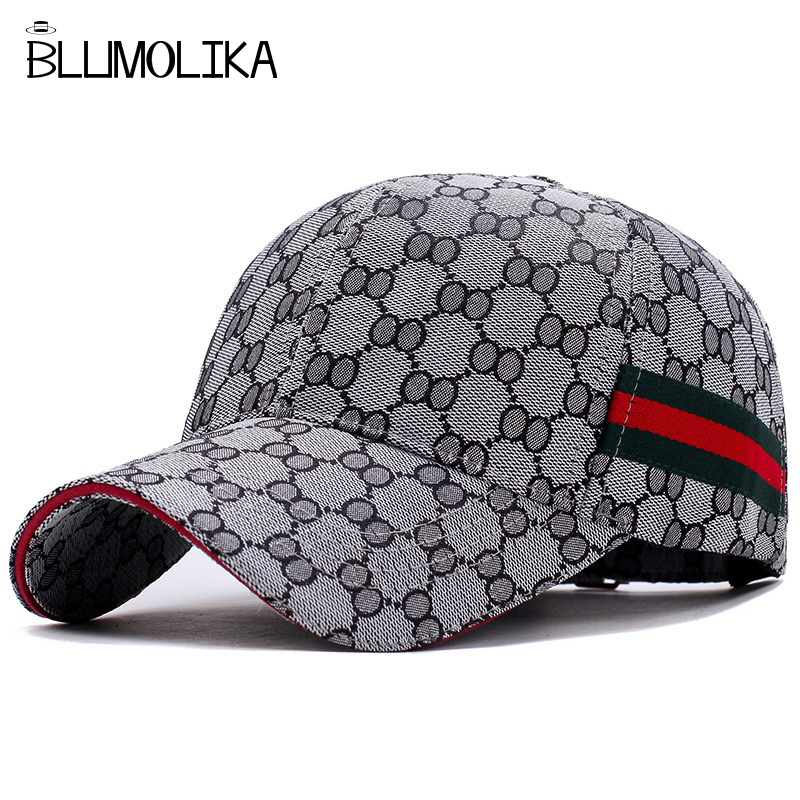 13e9d4baa91d2 2018 High Quality Cotton Hat for Men Women Luxury Black Color Baseball Cap Hats  Wholesale Spring Summer Hat on Promotion   BestDealPlus