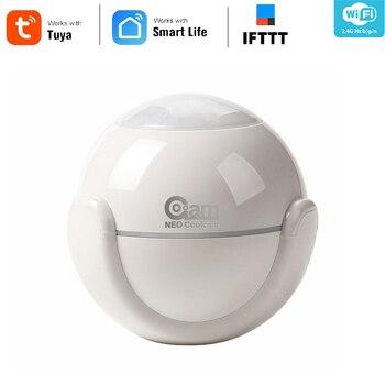 Coolcam Wi-fi Detector de Alarme De Sensor De Movimento PIR Movimento Dectector Para Smart Home Automation e App Notificação Alertas, sem Hub Precisa