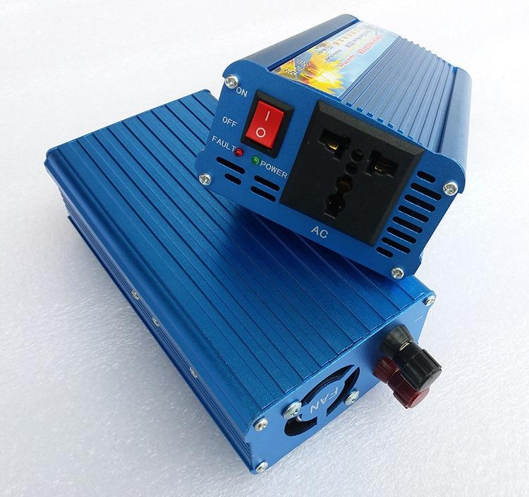 500W pure sine wave power inverter 24v 12v input 220v output dc ac inverter power solar 0.5kw micro inverter цены