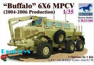 Bronco model CB35100 1/35 Buffalo 6X6 MPCV(2004-2006 Production)  экран маскировочный awenta mpcv 7 20х40см