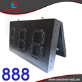 888 Red LED count down digit number 8'' led display gas price led signs with waterproof cabinet