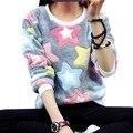 Nuevo Llegan Las Mujeres Chándales Sweatershirt Svitshot Tops Primavera Otoño Hoodies Ocasionales de Las Señoras