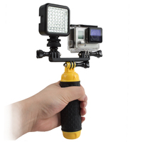 GoPro FlashLight Lamp LED Flash Video Light Mount For Go Pro Hero 5 4 3 3