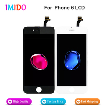 40PCS/LOT LCD For iPhone 6 LCD Display Touch Screen Digitizer Assembly Grade AAA qualiy No Dead Pixel DHL Fast Shipping 10pcs lot aaa no dead pixel lcd display for iphone 6 lcd screen touch digitizer screen cold press frame assembly dhl free ship