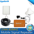 CDMA 850MHz Mobile Signal Repeater CDMA850MHz Celluar Booster 67dB Amplifier with Indoor Antenna for House Hotel and Coffee bar