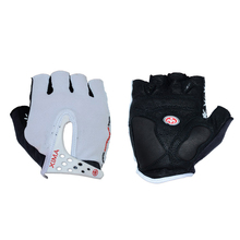ФОТО  cycling gloves half finger mens women's summer sports shockproof bike gloves gel mtb bicycle gloves guantes ciclismo