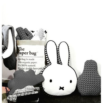 Baby Rabbit Pillow Kids Sleep Cushion Bunny Neck Pillows Baby Decoration Room Infant Baby Boys Girls Decorate Christmas Gift 1