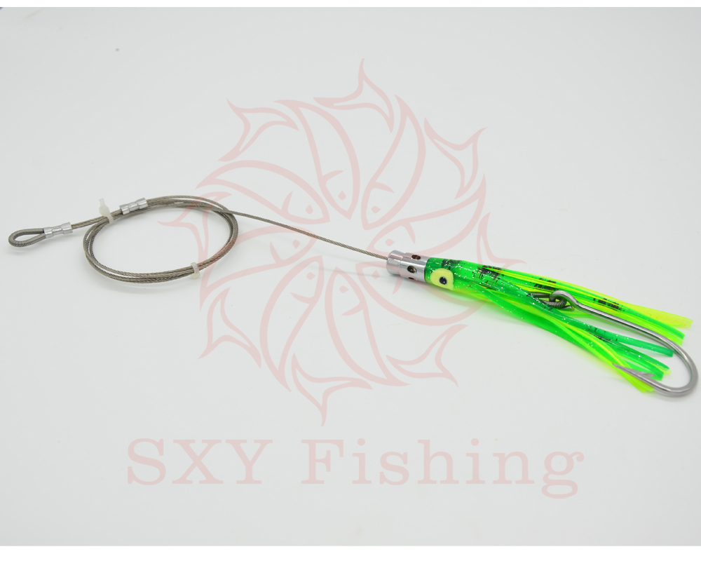 SXY FISHING FREE SHIPPING D17 Artificial Bait Drag the bait Deep sea bait Trolling bait Ship bait Octopus bait Big Sport Fishin