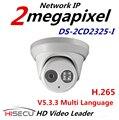 Atacado New H.265 IP Câmera 2.0 megapixel DS-2CD2325-I V5.3.3 Multi Language Câmera Da Abóbada do IR Câmera IP Câmera IP Com Fio