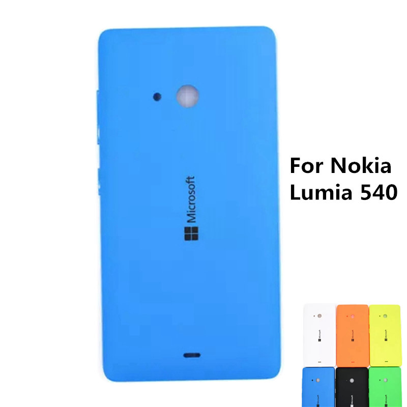 Original Replacement Housing Fundas For Nokia Lumia 540 Phone Battery Back Cover Case For Nokia Lumia 540 Free Shipping