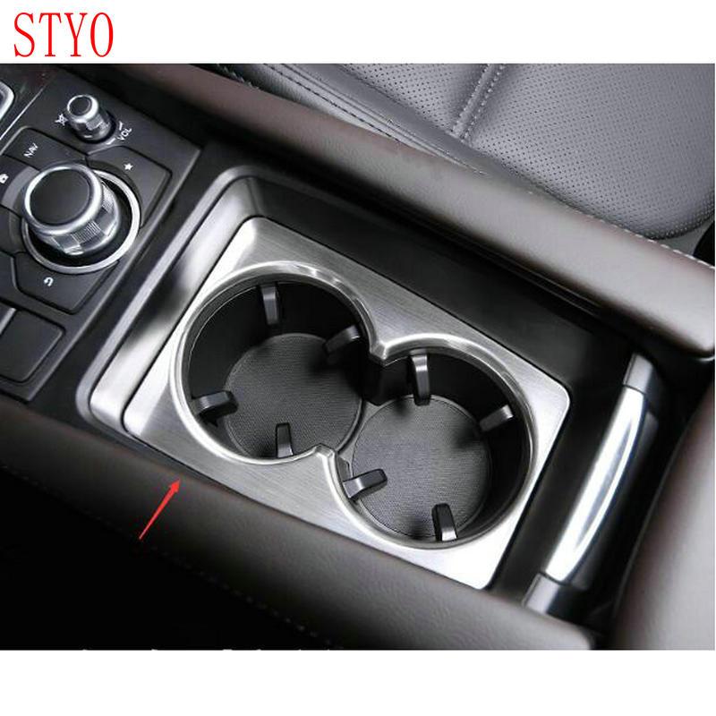 Автомобильный держатель стакана из АБС-пластика STYO, отделка, молдинг для LHD Mazdas 3 AXELA M3 2017 2018