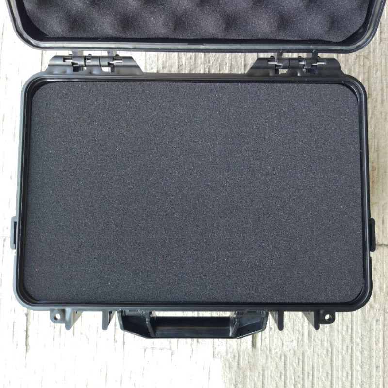 ABS material IP65 waterproof shockproof hard plastic tool case with foam