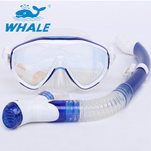 Water Sports Scuba Diving Mask Snorkeling Freediving Mask With Snorkel Set MSK-100-900