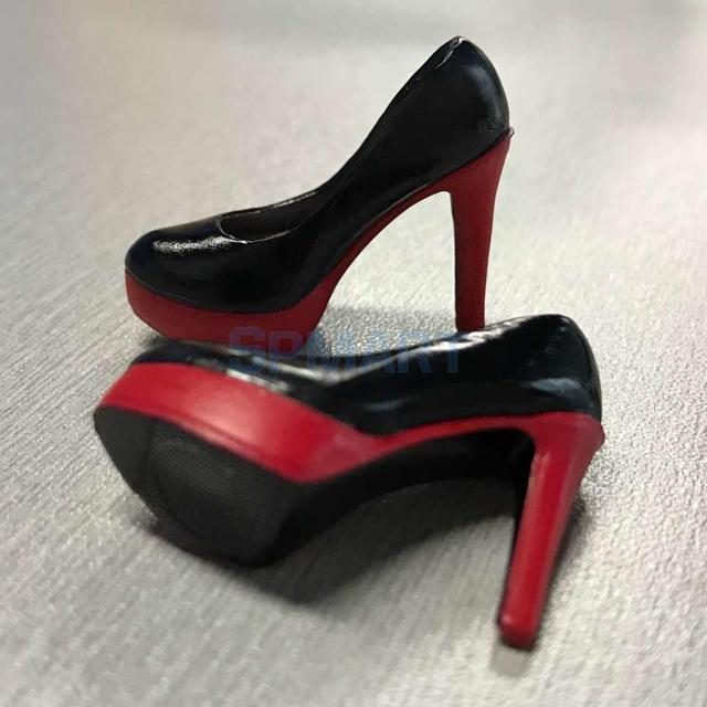 1/6 Scale Stiletto High Heels Platform Shoes For 12 Inch Female