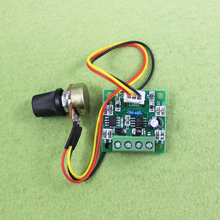цена на PWM DC Motor Regulator Low Voltage 1.8v 3v 5v 6v 12v Motor Driver Speed Controller Module Current Control Output 0-2A DIY Supply