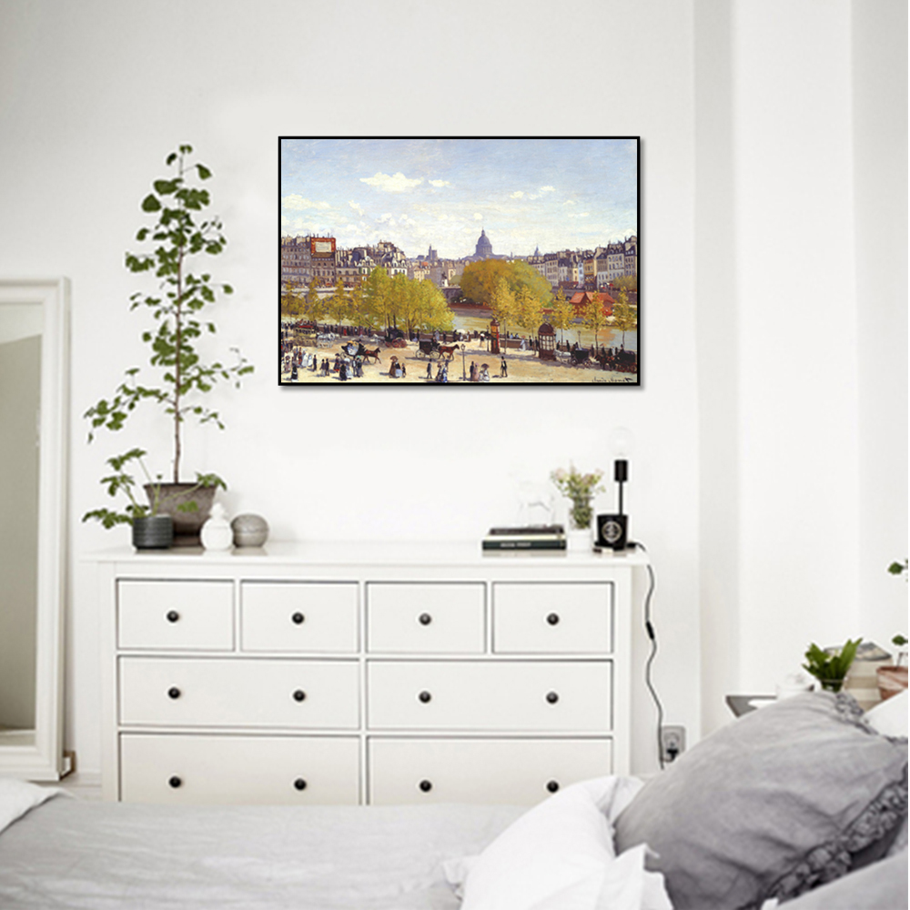 Unframed Canvas Prints Square Landscape Wall Art Canvas Painting Prints Wall Picture For Living Room Wall Art Decoration