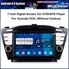 Car DVD Video Player For Hyundai IX35 TUCSON 2010 With GPS Navi Radio Bluetooth Free Map