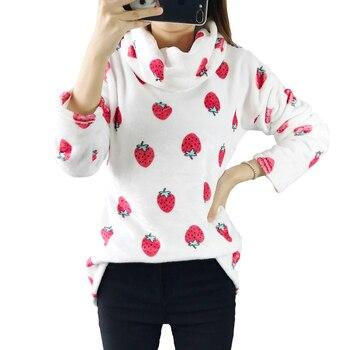 Harajuku Women Irregular Clothes Oversized Winter Autumn Hoodies Scarf Collar Long Sleeve Fashion Casual Sweatshirts Pullovers women Sweatshirts & Women Hoodies