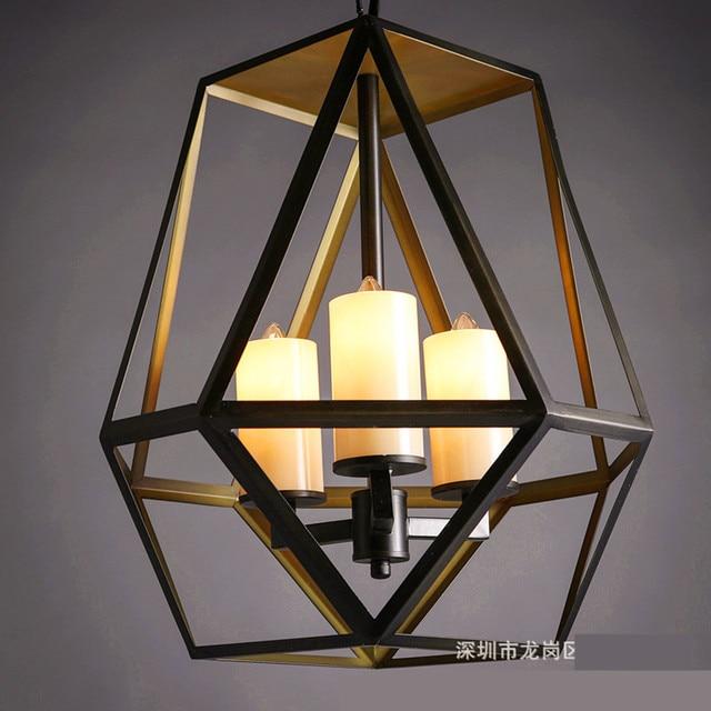 industrial led indoor lighting. black retro iron loft lamp industrial led pendant with candle holder rustic vintage light fixtures indoor lighting b