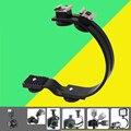 Studio Photography Accessories Microphone LED Light DSLR Camera Flash Speedlite C-Shaped Hot Shoe Bracket Stand Grip