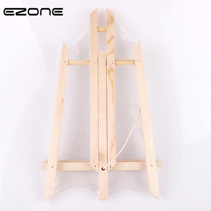 Ezone регулируемый деревянный мольберт портативный A Frame настольный мольберт рекламы выставок штатив подставка для картин инструмент офисные
