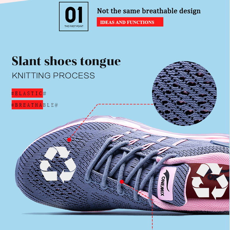 Onemix Γυναικεία αθλητικά παπούτσια για - Πάνινα παπούτσια - Φωτογραφία 3
