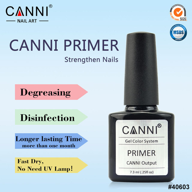 CANNI Gel Primer UV LED Gel Base Primer Soak Off Gel Nail Polish
