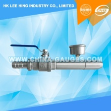 IPX6 Water Jet Nozzle (Included ISO 17025 CNAS & ILAC Calibration Certificate)