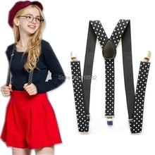 Women Suspenders Gallus Men's Dot BD006-L 9-Colors Y-Back Printed New
