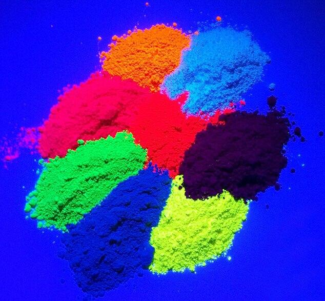 Beauty Shiny Fluorescence Pigment Phosphor Powder ,100g/bag Cosmetic Powder Fluorescent for Paint Nail Polish Soap