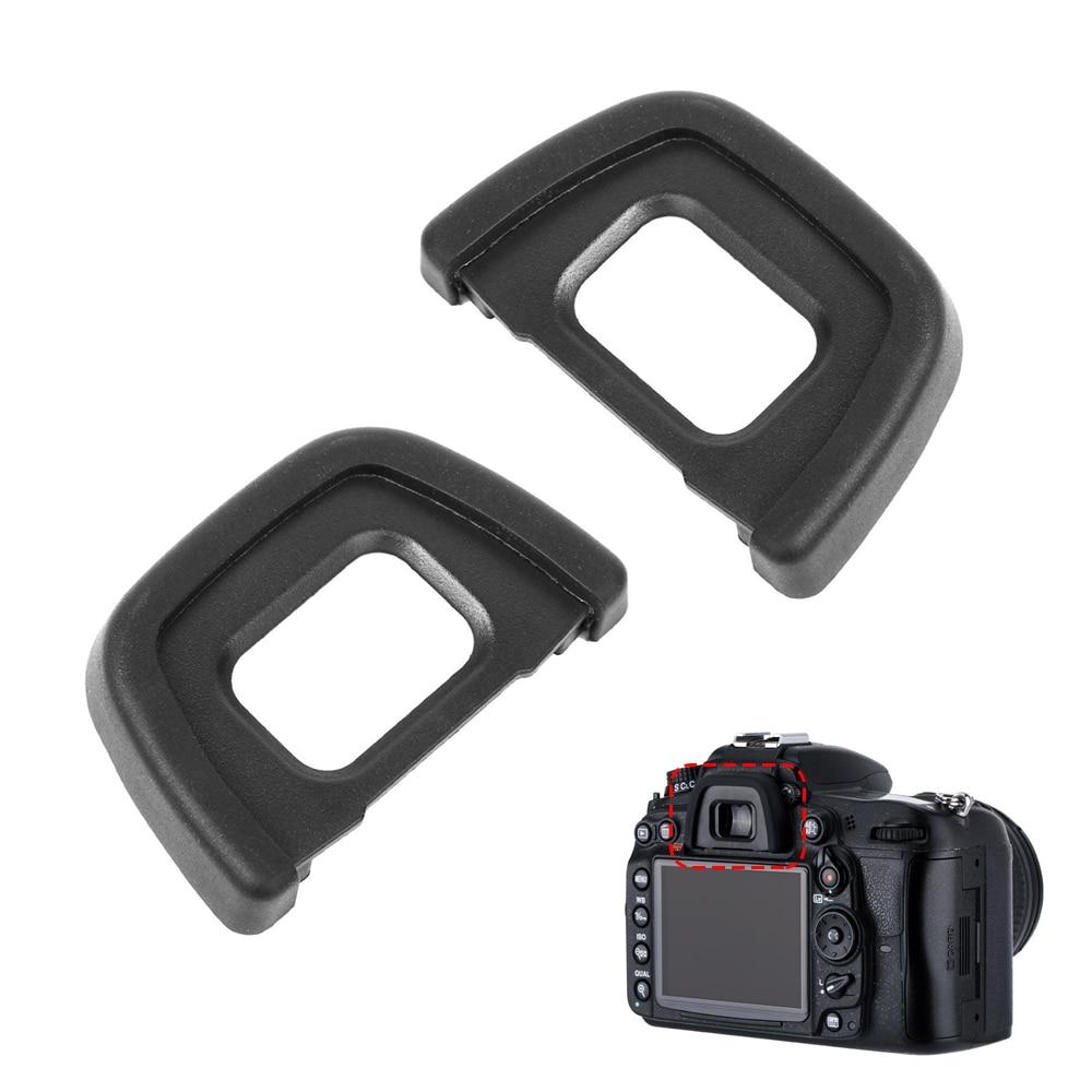 2PCS DK23 DK-23 Rubber Eyecup Viewfinder Eye Cup Eyepiece For Nikon D600 D610 D7000 D7100 D7200 D90 D80 D70S D70 D60