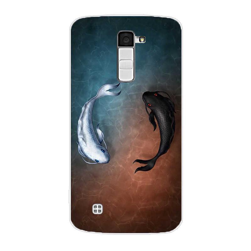 עבור LG K10 מקרה כיסוי עבור LG K10 2016 K420N K430 טלפון Fundas רך עבור LG K 10 K10 LTE k430ds סיליקון חזרה TPU מקרי