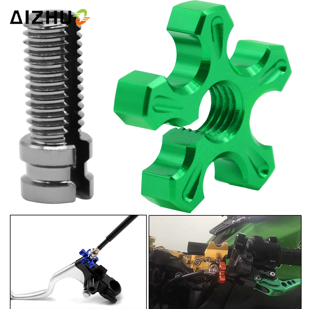 Clutch Wire Cable Adjuster For Kawasaki ZX6R//10R//12R NINJA 1000 ZZR 400//600 Z750