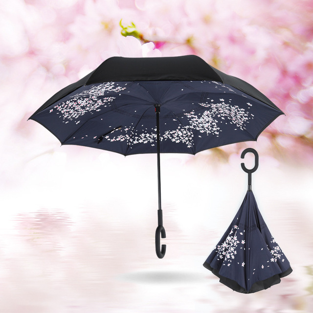 Aliexpress   kup  Creative Self Stand upside down Rain Protection  kup  d3a62e