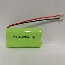 Soravess 1-4PCS 2.4 V AA Ni Mh Rechargeable Battery Pack 1500mAh aa NiMh