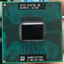 Процессор Intel Core 2 Duo P9700 для ноутбука, процессор для ноутбука PGA 478, ЦП 100% работающий должным образом