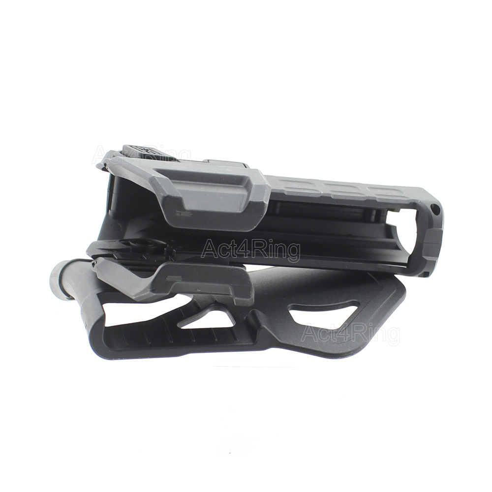Táctico móvil pistol holsters Para 1911 con linterna o láser montado ...