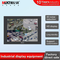 Industrial embedded 12/12.1 inch LED monitor display / LCD monitors / photography video 1024*768 HDMI/BNC/VGA