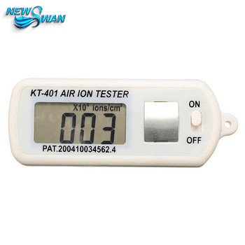 KT-401 Air Aeroanion Tester Mayitr Air Ion Meter Counter Negative Ions With Peak Hold 1.5V
