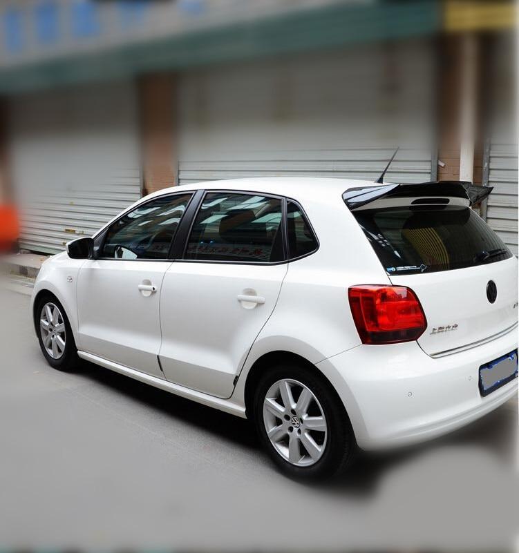 For Volkswagen Vw Polo 2011 2016 Rear Wing Spoiler Trunk