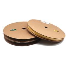 1 м/лот 2:1 Черный диаметр 1мм-10мм тепловой усадки трубки sleeving изоляции поделки оберните провод разъем ремонт оболочки