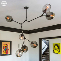 New Creative vintage industrial pendant lights for Dinning/Kitchen room Mordern Country style lamp lampara Spider light