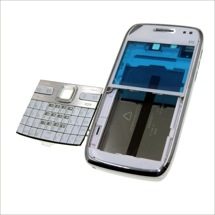 Complete Front Cover E72 Keyboard For Nokia E72 Battery Back Cover High Quality Housing+Keypad