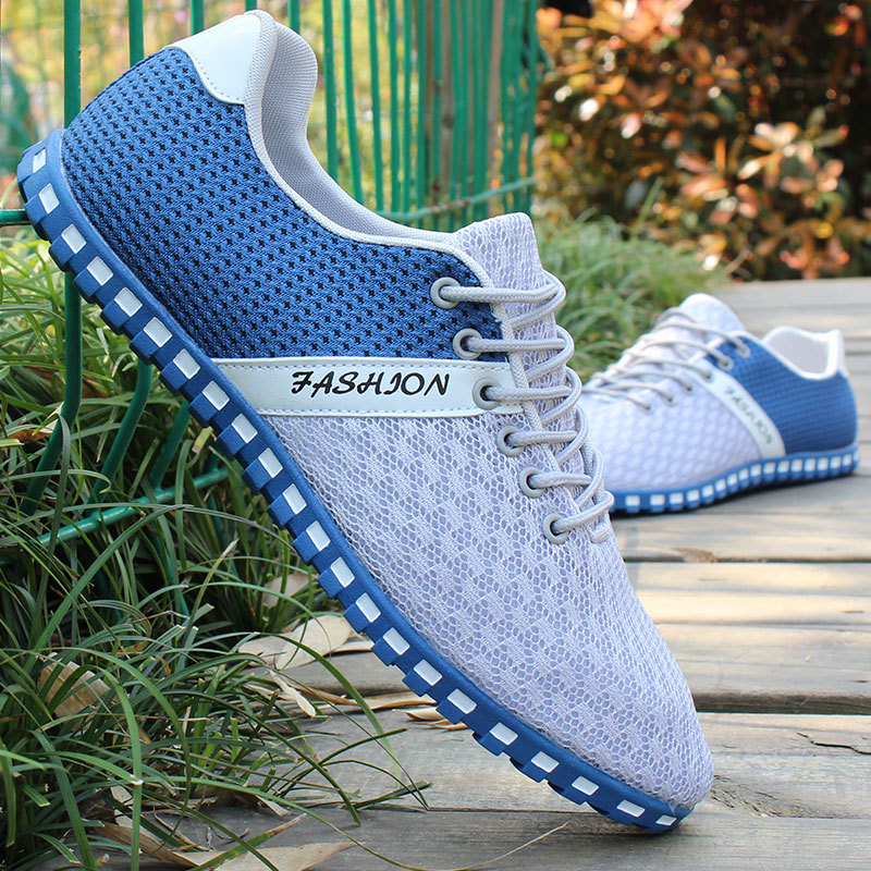 Big Size Running Shoes For Men 2018 Mesh Breathable Sneakers Sport Shoes Mens Designer Sneakers zapatos mujer Runner 45 46 ...