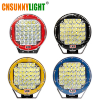 CNSUNNYLIGHT 2pcs 9 Inch 96W LED Driving Work Light Super Bright Led Spotlight For 4X4 ATV